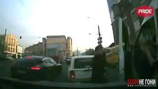 Подборка драк на дорогах России в 2013