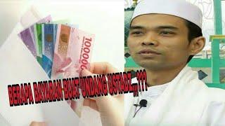 TANYA JAWAB USTAD ABDUL SOMAD,,,penjelasan tentang bayaran pendawah/penceramah