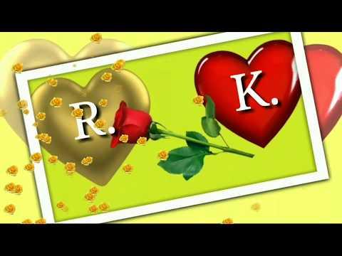 R k Letter whatsapp status R k Letter Good Morning status Wishes Massage Greetings E-card.... ❤️🌹🔔