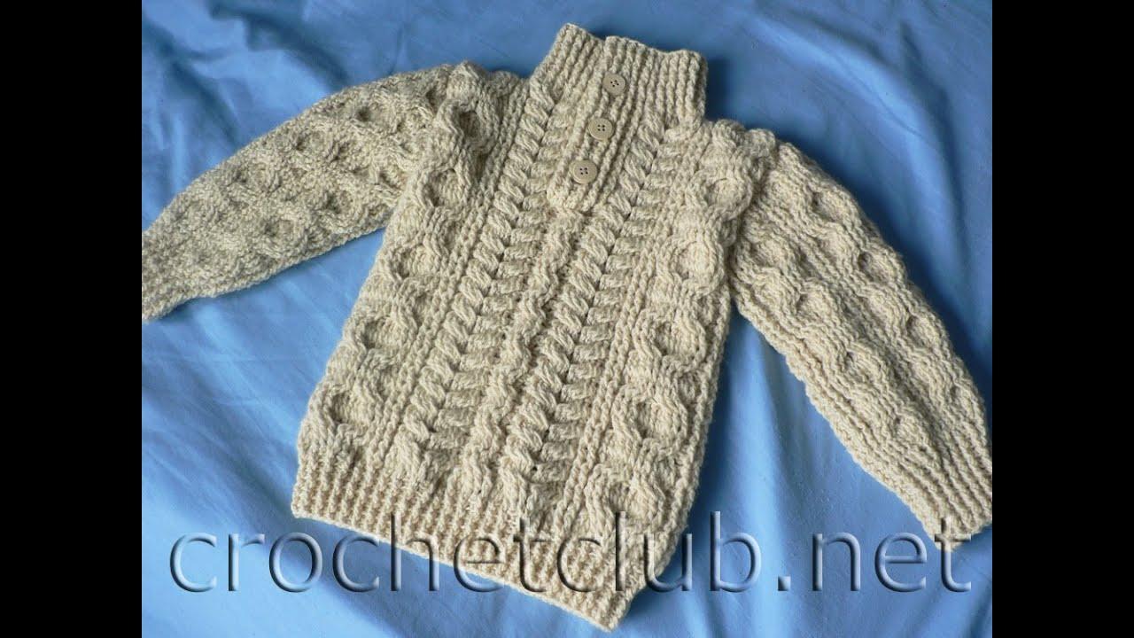 crochet cardigan| sweater/ jumper free |crochet patterns| 26 - YouTube