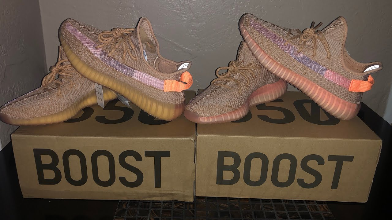 Fake DHgate Clay Yeezy vs Real Clay