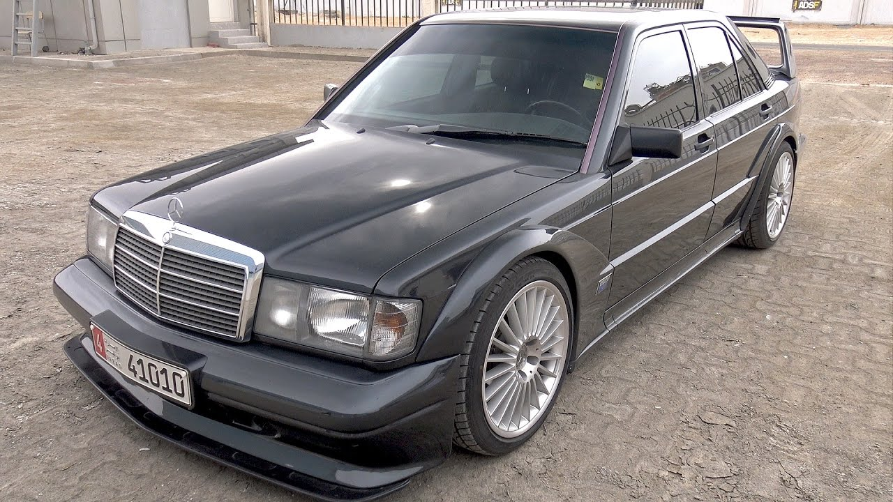this is bonkers mercedes benz 190e 2 5 16v evo ii youtube. Black Bedroom Furniture Sets. Home Design Ideas