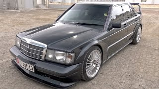 THIS is BONKERS! Mercedes-Benz 190E 2.5 16v EVO II