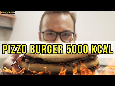 Download Youtube: PIZZO BURGER 5000 KCAL (w/Gimper) #Tłustyczwartek