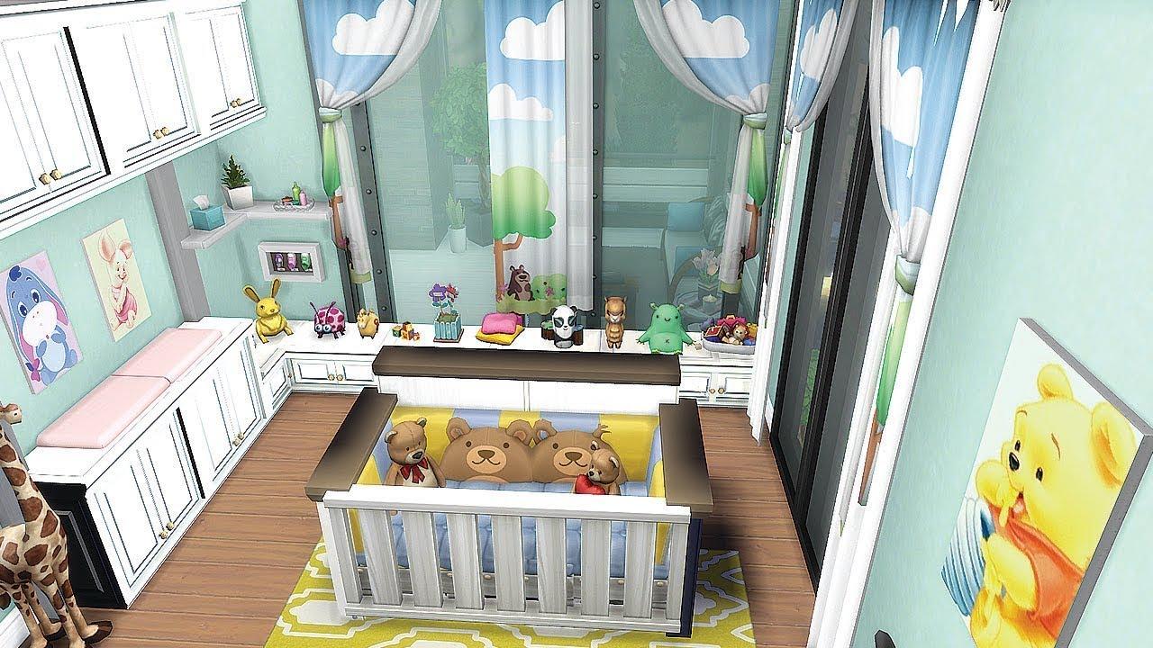 Une Chambre De Bambin Sims 4 Construction Youtube