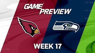 Arizona Cardinals vs. Seattle Seahawks | NFL Week 17 Game Preview | NFL