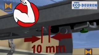 Hormann aandrijving monteren op garagedeur
