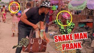Download Zfancy Comedy - African Snake Man Prank (Zfancy)