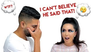 Girlfriend Does Makeup Crazy To See How Boyfriend Reacts | Dhar and Laura