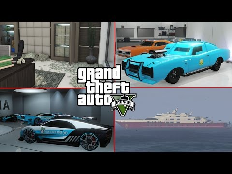 $1,000,000,000 DOWN THE DRAIN - GTA 5 DGAF Garage Tour 2017