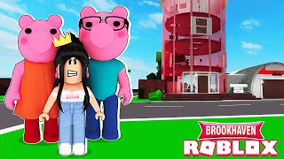 LES PARENTS DE PIGGY M'ADOPTENT SUR BROOKHAVEN | ROBLOX BROOKHAVEN RP | MISLICIOUS