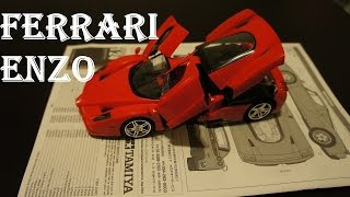 Ferrari Enzo - Tamiya 1/24 scale [model build | Review]