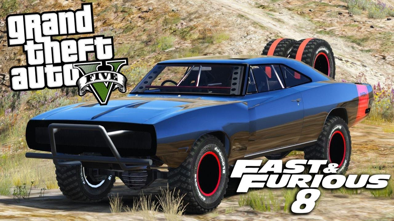 Dodge Charger Di Fast And Furious Di Dominic Toretto Su Gta