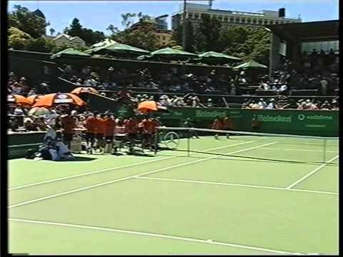Juan Balcells vs Michael Chang, Semifinals ATP Auckland 2000,
