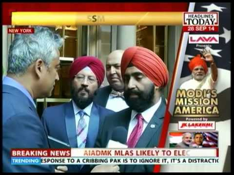 Sikh delegation petitions PM Modi in America