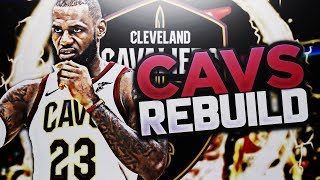 TRADING IT4 + KEVIN LOVE!! CAVS REBUILD!! NBA 2K18