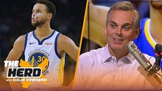 Colin Cowherd: Warriors are falling apart without Steph Curry, Talks KD and LeBron | NBA | THE HERD