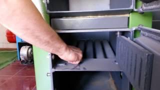 видео Схема твердотопливного котла длительного горения