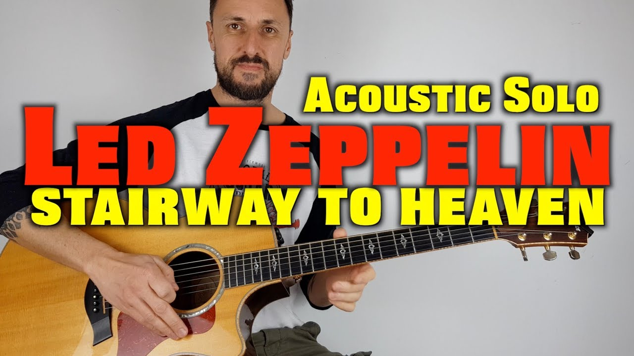 stairway to heaven solo led zeppelin acoustic guitar lesson youtube. Black Bedroom Furniture Sets. Home Design Ideas