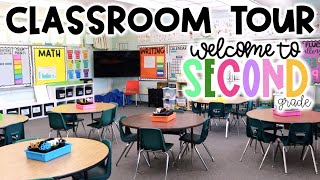 CLASSROOM TOUR!! - 2nd Grade