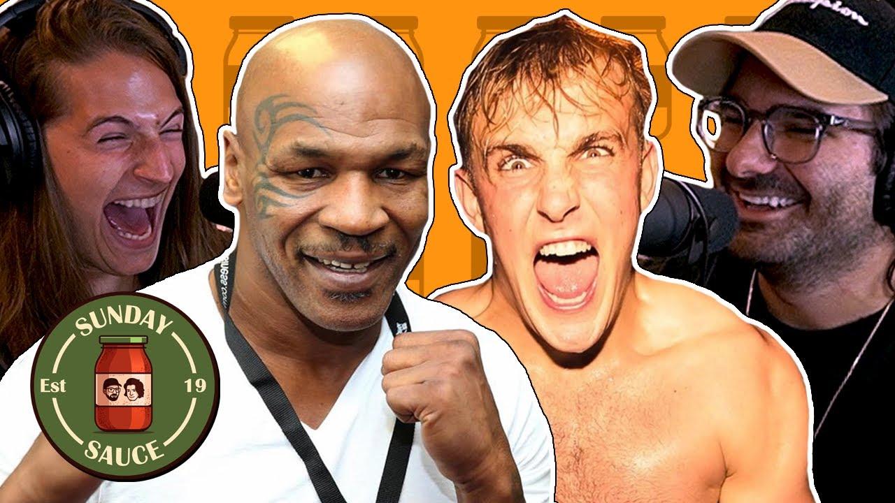 Jake Paul On Mike Tyson Undercard, Kanye West, David Dobrik & Iron Man | Sunday Sauce EP38