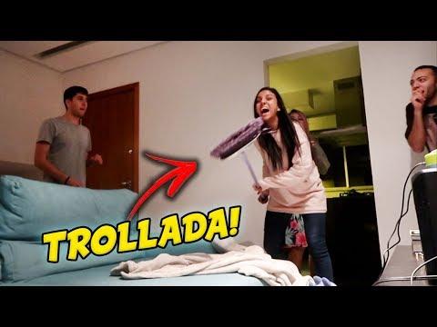 TROLLAGEM ÀS 3 HORAS DA MADRUGADA! #ReisDaTrollagem