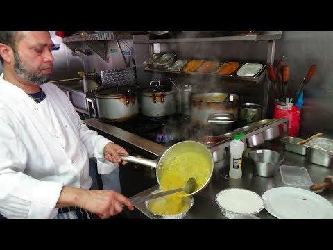 Freshly Made Vegetable Biryani And Masoor Daal At Sizzling Spice Restaurant, Harrow, London.