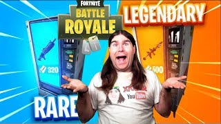 THE LEGENDARY DISTRIBUTOR FORTNITE!!!! FREE SCAR FOR EVERYONE!!!