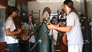 "Green Blossom String Band - ""Whitley"" live garage rehearsal session"