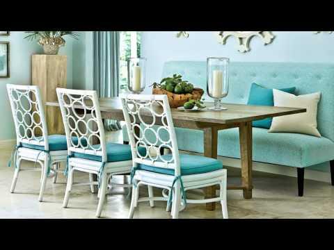 Dining Room Seating Ideas | Seaside Design | Coastal Living