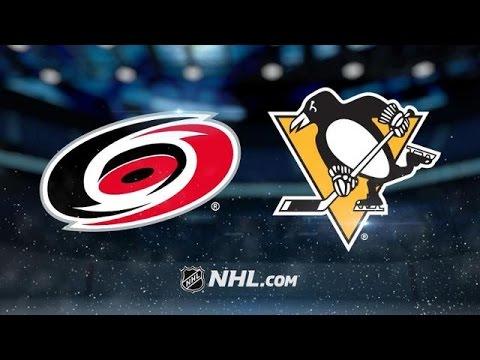 Carolina Hurricanes vs Pittsburgh Penguins NHL Game Recap