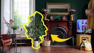 W duzym domu potrzeba duzo roslin!