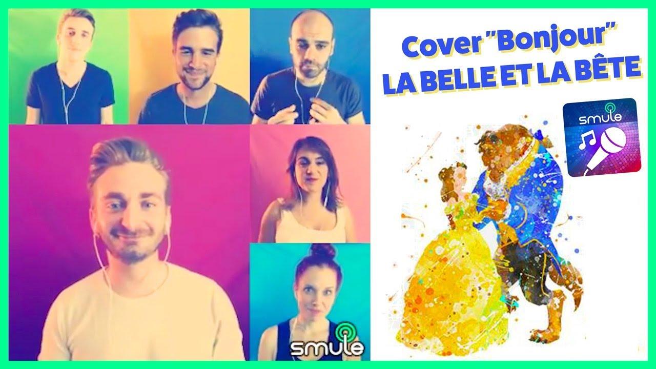 Bonjour - La Belle et la Bête (Cover Smule)