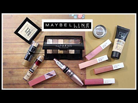 ВСЕ ЛИЦО ОДНИМ БРЕНДОМ: Maybelline