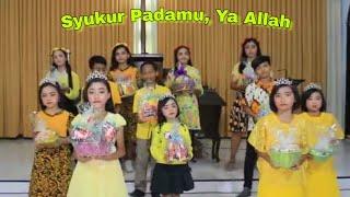 Pujian Rohani_Syukur PadaMu, Ya Allah||Anak GKJW Jemaat Gedangan