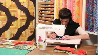 How To Make A Curved Log Cabin Quilt Block