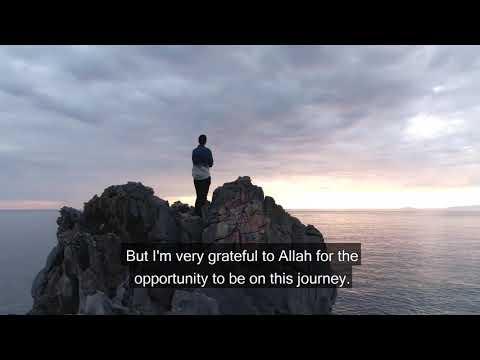 على عمرو خالد:رغم صغر سنى إلا أن رحلتى مع منازل الروح غيرت الكتير فى حياتى للأفضل