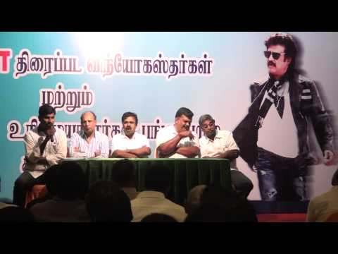 Lingaa Film Issue Pressmeet by Singaravelan Part 2
