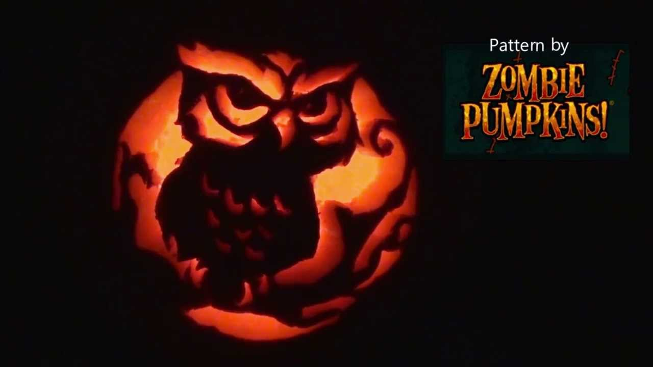 Owl Pumpkin Carving Youtube
