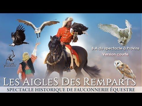 Les Aigles des Remparts - Provins - Teaser B.A