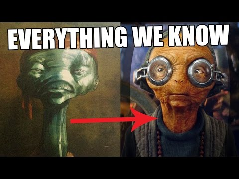 Star Wars Universe 101| EVERYTHING We Know About Maz Kanata  - Jon Solo