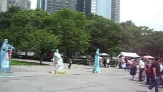 № 32 АМЕРИКА с НАТАШЕЙ  НЬЮ-ЙОРК Статуя Свободы в нескольких ЛИЦАХ 29.05.2009