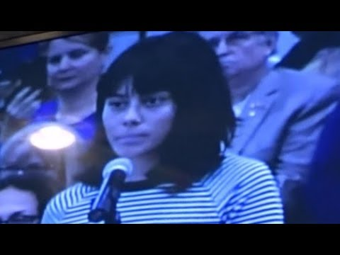 TRIGGERED SJW SNOWFLAKE SAYS SPEECH OPPOSING ILLEGAL IMMIGRATION IS VIOLENCE