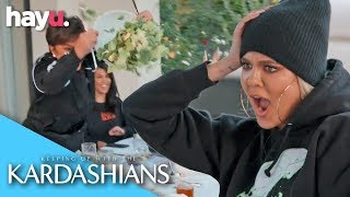 The Kardashians Have A Food Fight! | Season 17 | Keeping Up With The Kardashians