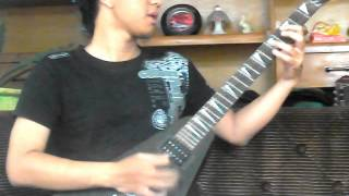 Kreator - From Flood Into Fire (Guitar Cover + All Solo)