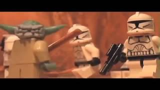 Лего Мультик Звездные Войны - Кто победит Гривус или Йода?
