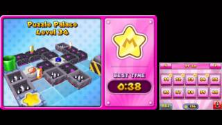 Mario and Donkey Kong: Minis on the Move - 100% Walkthrough - Puzzle Palace Levels 31-40