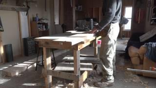 Столярные дела: Строим Верстак 2(Видео сюжеты о том как я с сыном учимся столярному делу., 2014-11-14T16:29:29.000Z)