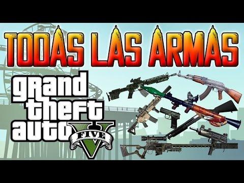 Gta San Andreas Ubicacion De Todas Las Armas De Los Santos  (parte 1)