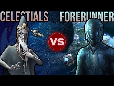 Celestials (Star Wars) vs Forerunners (Halo) | Halo vs Star Wars: Galactic Versus